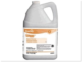 Diversey floor cleaner anticeptic